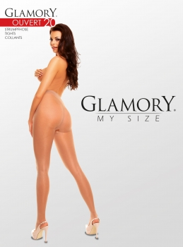 GLAMORY Ouv. 20 Strumpfhose Gr. 40 - 62 in 4 Farben G-505129