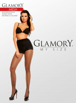 GLAMORY Mesh Netzstrumpfhose Gr. 40 - 62 in make up G-50351