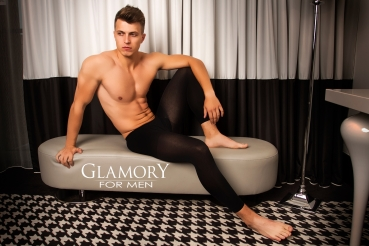 GLAMORY Thermoman 100 Herrenleggings M - 4XL in schwarz G-50460