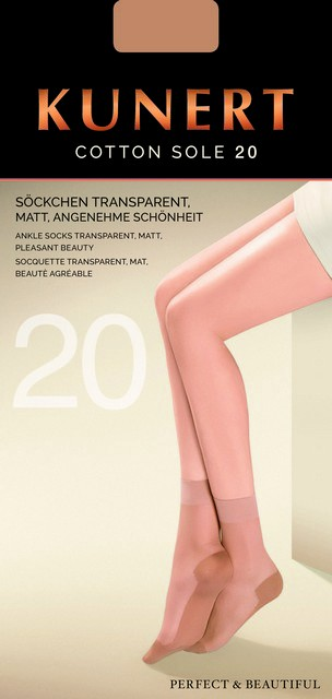 e251daf23378e mm-dessous - KUNERT Socken / Söckchen COTTON SOLE - 169800