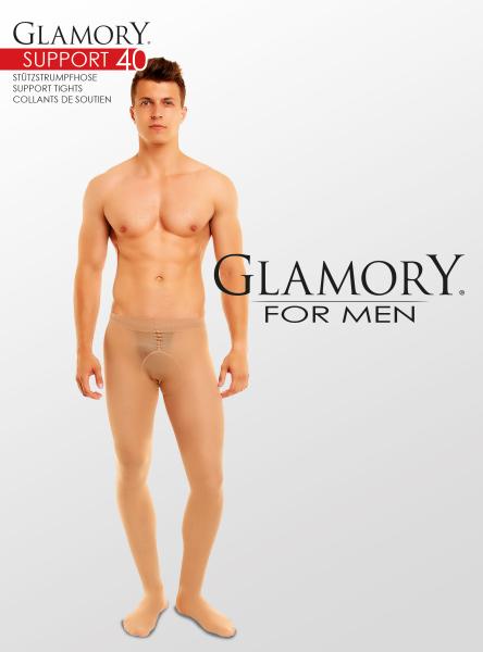 Glamory Support 40 Messieurs Collant M 4xl En 2 Couleurs g-50424